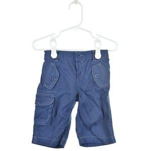 Ralph Lauren Blue Cotton Cargo Pants
